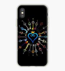 Kingdom Hearts Keyblades iPhone Case