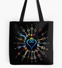 Kingdom Hearts Keyblades Tote Bag