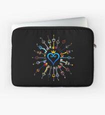 Kingdom Hearts Keyblades Laptop Sleeve