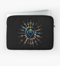 Kingdom Hearts Keyblades Laptop Sleeve