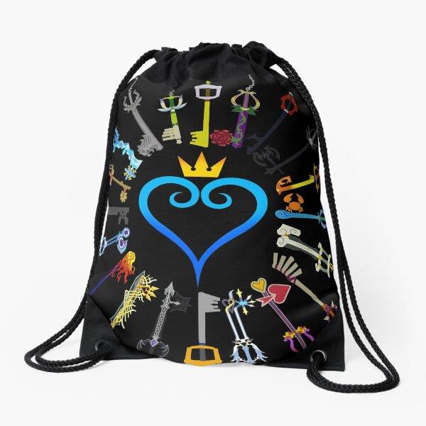 Kingdom Hearts Keyblades Drawstring Bag