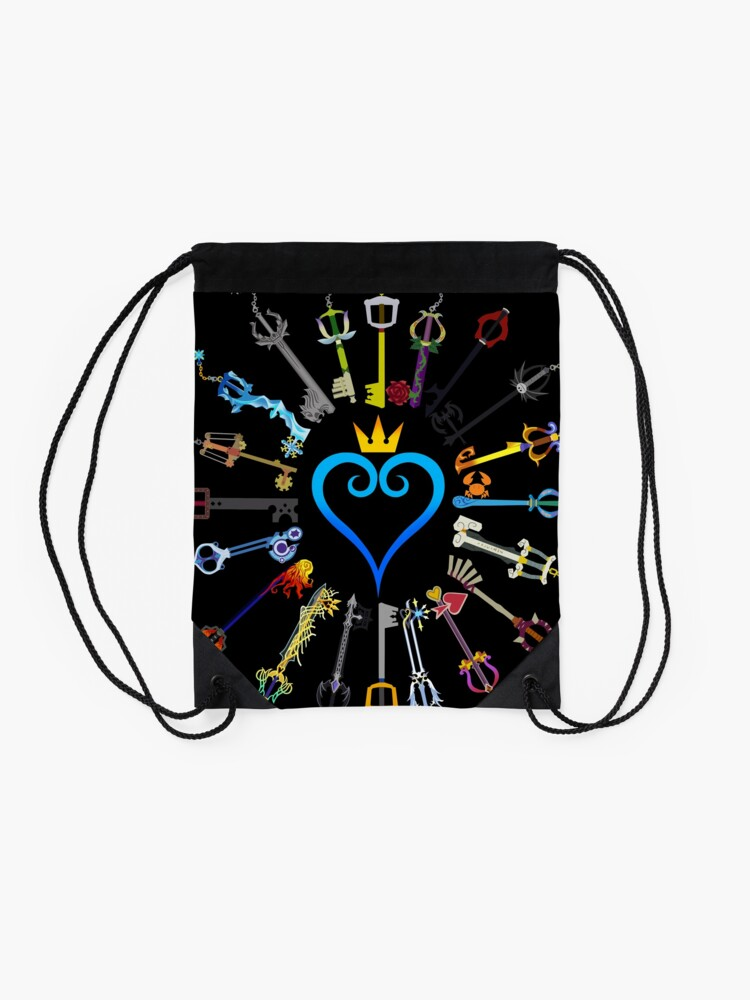 Alternate view of Kingdom Hearts Keyblades Drawstring Bag