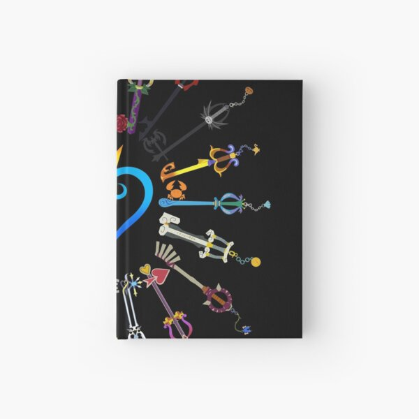 Kingdom Hearts Keyblades Hardcover Journal