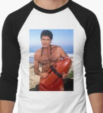 Camiseta ¾ bicolor para hombre El Hoff - Vigilancia de la playa
