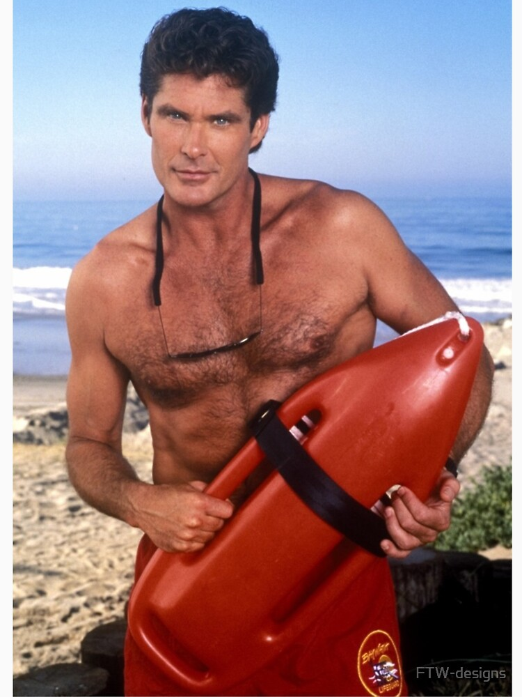 The Hoff - Baywatch by FTW-designs