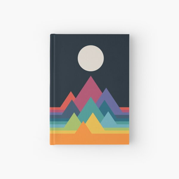 Whimsical Mountains Hardcover Journal