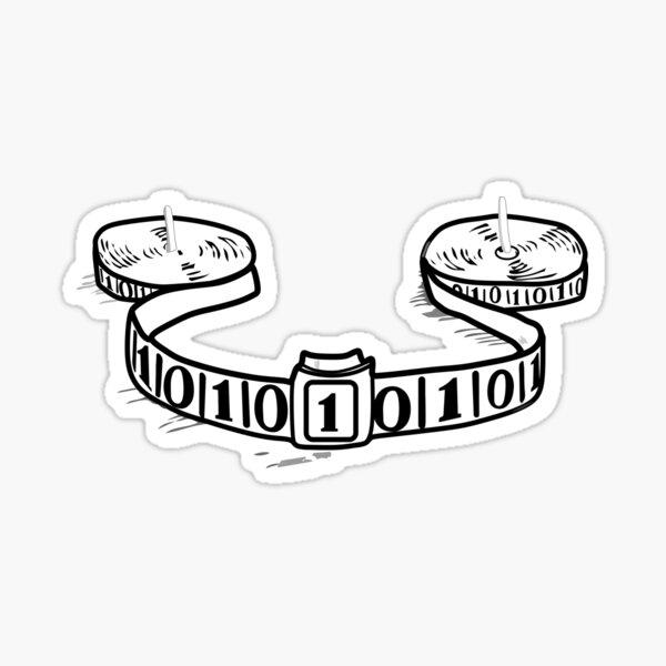 Turing machine Sticker