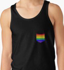 Rainbow Pocket LGBT Pride Tank Top
