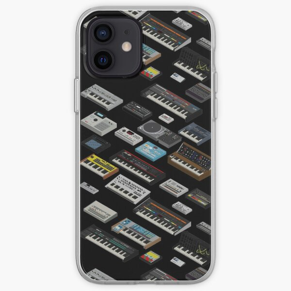 Collection de fans de synthétiseurs Coque souple iPhone
