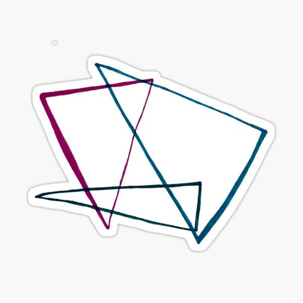 Nine Modern Angles Sticker
