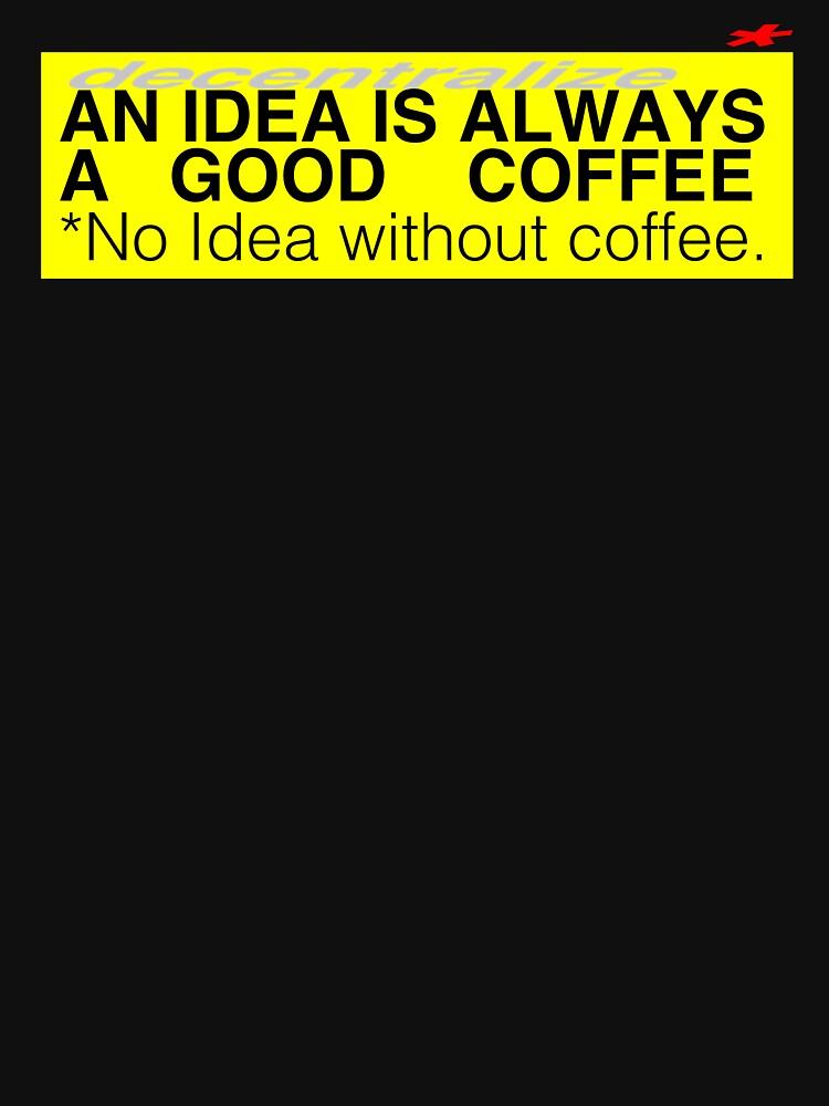 COFFEE IDEA *decentralized by xd3ctrl1zed