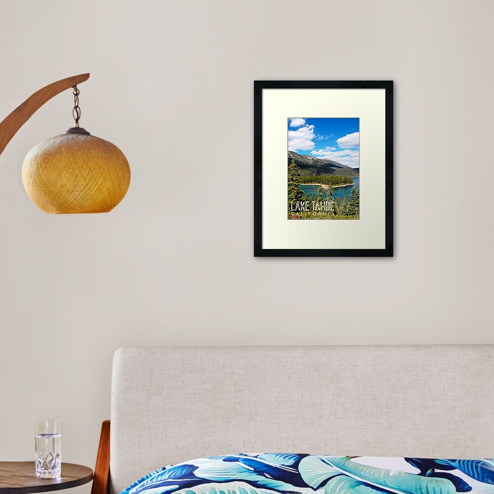 View of Emerald Point Framed Art Print