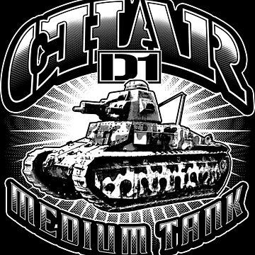 Char D1 by deathdagger