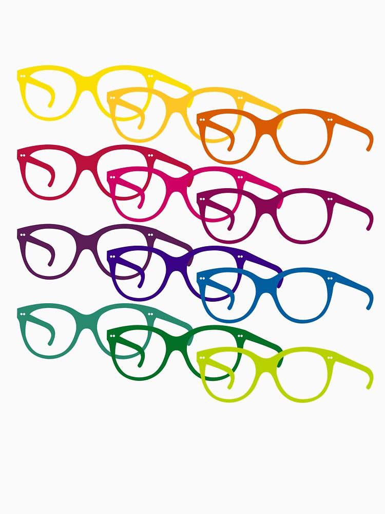 Audrey Hepburn Pop-Art-Brille von 28andsunny