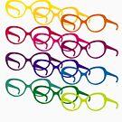 Sofia Loren pop art glasses by 28andsunny
