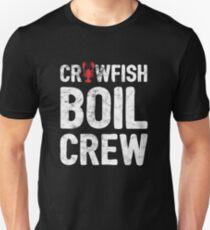e1d9278cf Crawfish Boil Crew Funny Crawfish Print - White Slim Fit T-Shirt