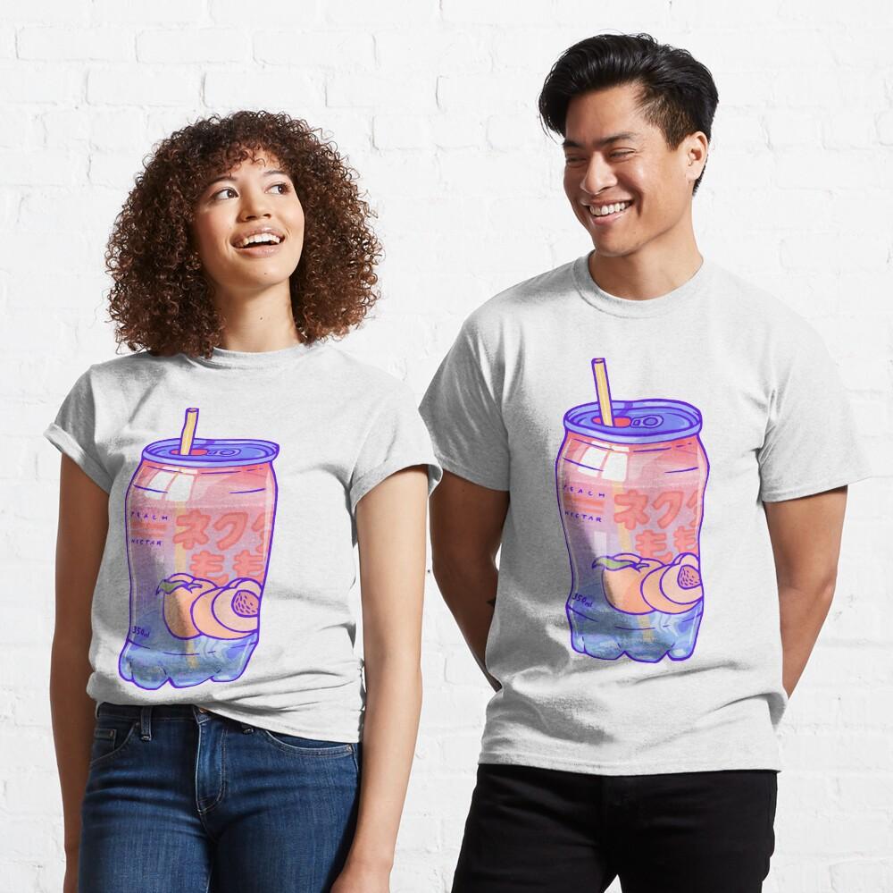 Peach Bubbles Classic T-Shirt