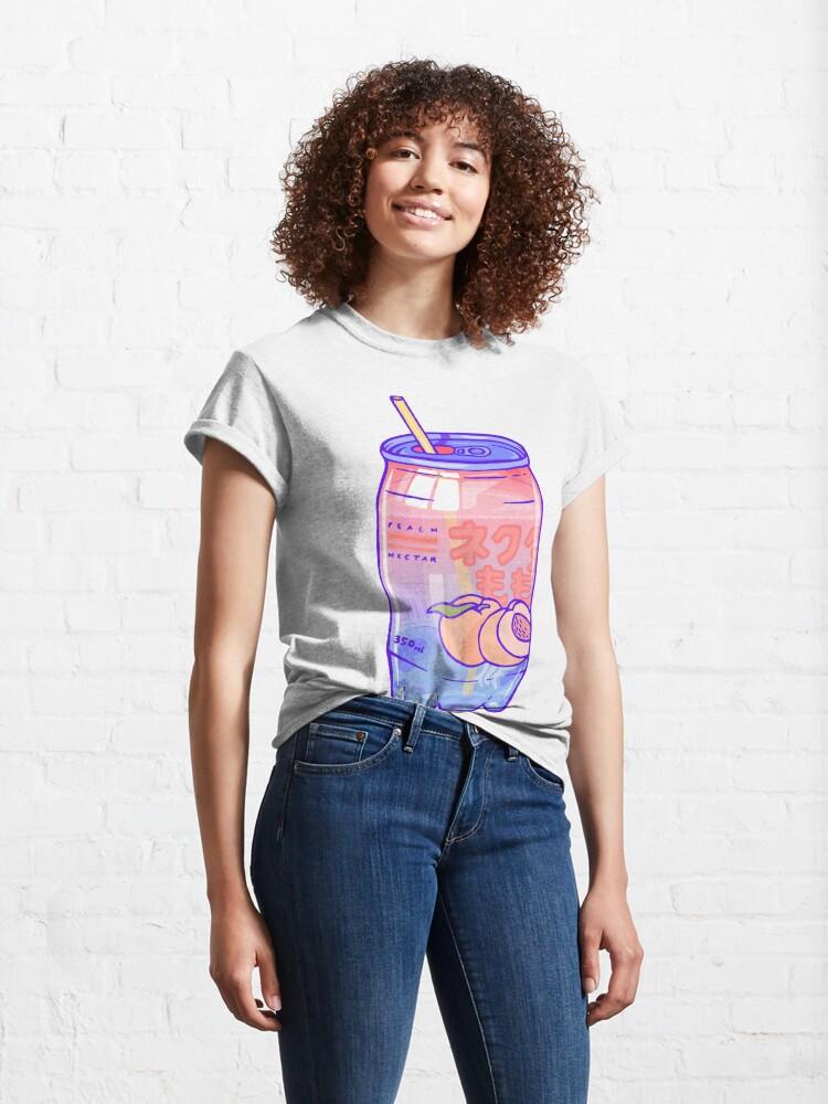 Alternate view of Peach Bubbles Classic T-Shirt