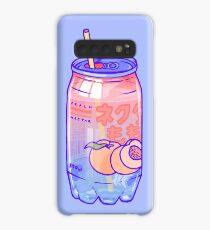 Peach Bubbles Case/Skin for Samsung Galaxy