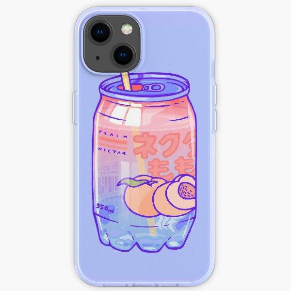 Peach Bubbles iPhone Soft Case