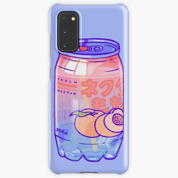 Peach Bubbles Samsung Galaxy Snap Case
