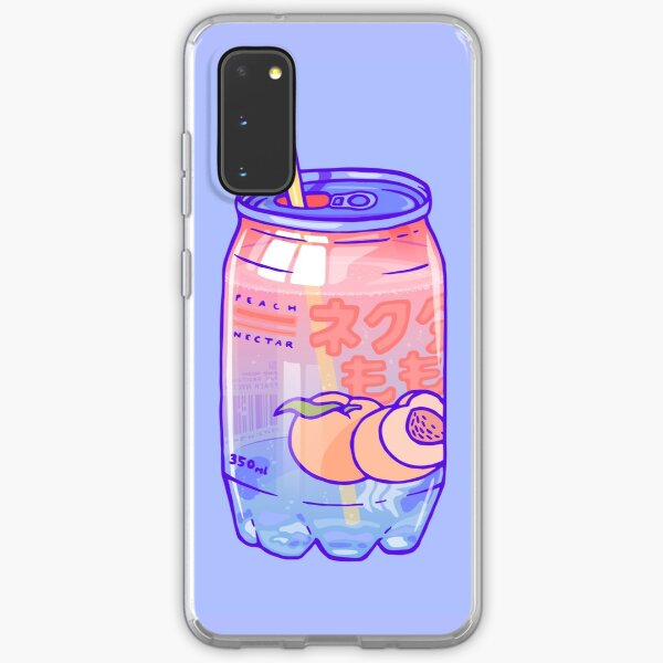 Peach Bubbles Samsung Galaxy Soft Case