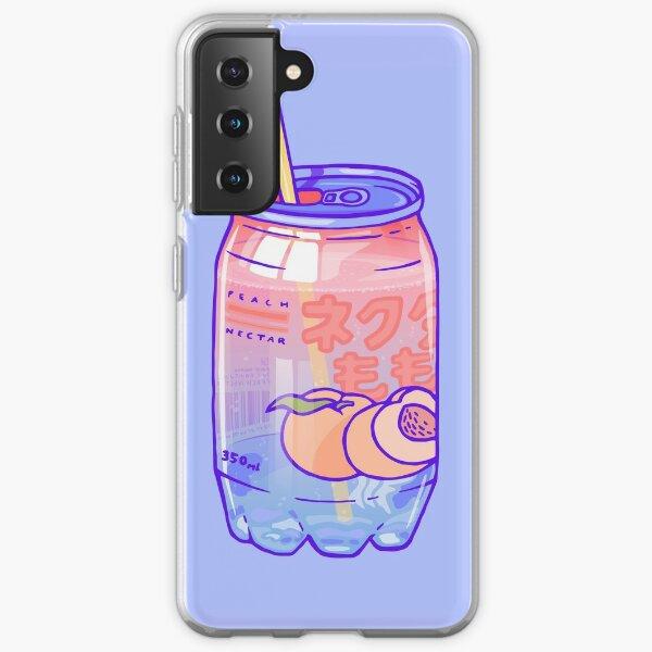 Peach Bubbles Samsung Galaxy Soft Case