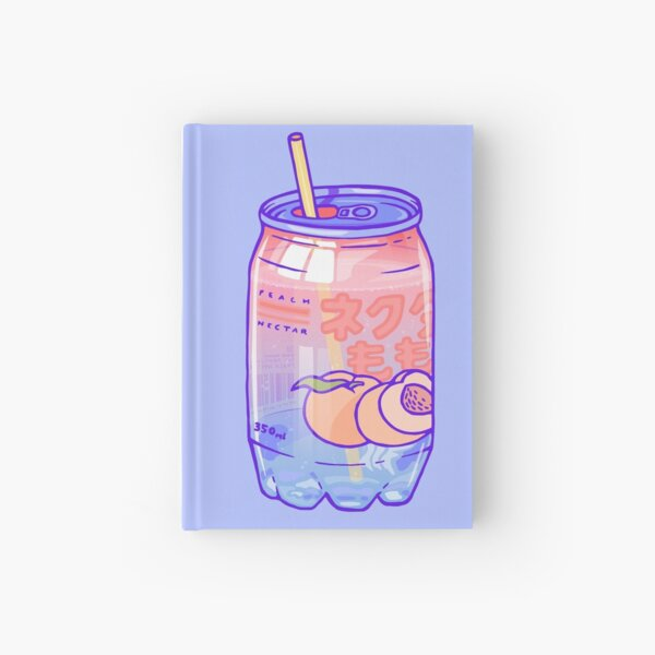 Peach Bubbles Hardcover Journal
