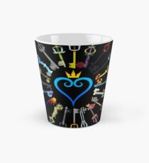 Kingdom Hearts Keyblades Tall Mug