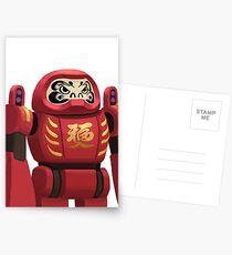 DARUMA Bot  Postcards