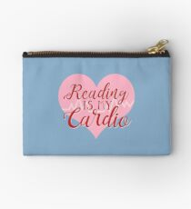 Reading is my Cardio Studio Pouch