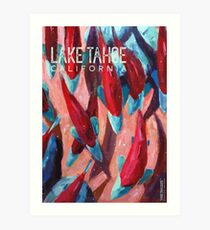 Kokanee Salmon Run (Lake Tahoe, CA) Art Print