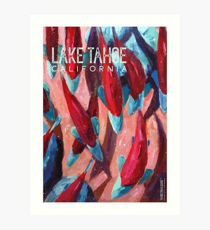 Kokanee Salmon Run (Lake Tahoe, CA) Art Print