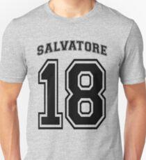 Salvatore #18 Football Jersey  - The Vampire Diaries (A) Unisex T-Shirt