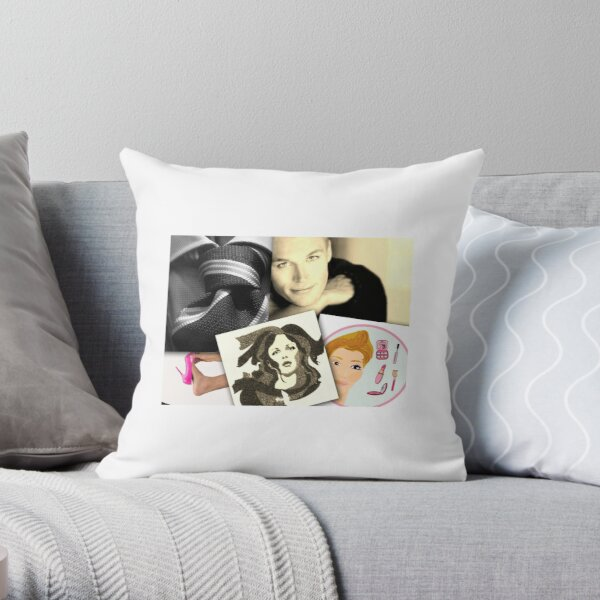 Cross to Bare - Lenny Laverne  Throw Pillow