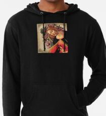 She Wore a Crown of Amaryllis Lightweight Hoodie