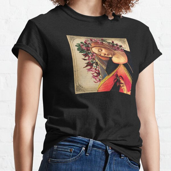 She Wore a Crown of Amaryllis Classic T-Shirt