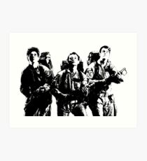 The Ghostbusters! Art Print