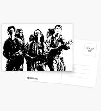 The Ghostbusters! Postcards