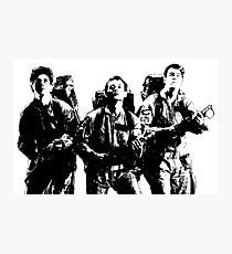 The Ghostbusters! Photographic Print