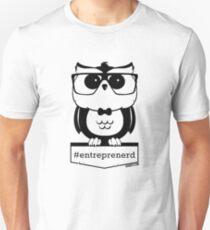 Entreprenerd - Entrepreneur Owl (Black) Unisex T-Shirt