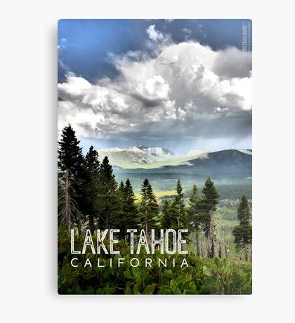 Storm Clouds Over Freel Peak (Lake Tahoe, CA) Metal Print