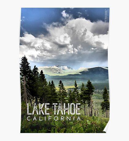 Storm Clouds Over Freel Peak (Lake Tahoe, CA) Poster