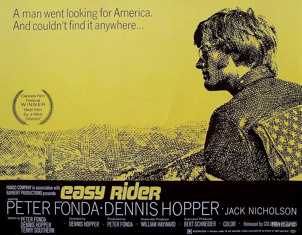 Easy Rider Lobby Card by filmcard