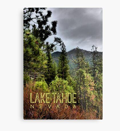 Spooner Summit (Lake Tahoe, Nevada) Metal Print
