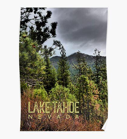 Spooner Summit (Lake Tahoe, Nevada) Poster