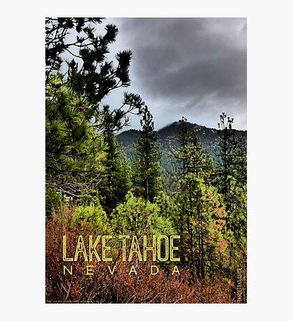 Spooner Summit (Lake Tahoe, Nevada) Photographic Print