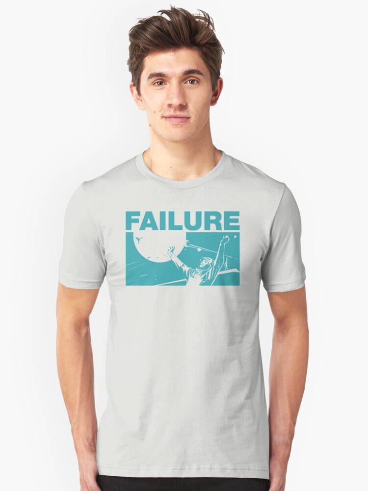Failure Space Astronaut Unisex T-Shirt Front