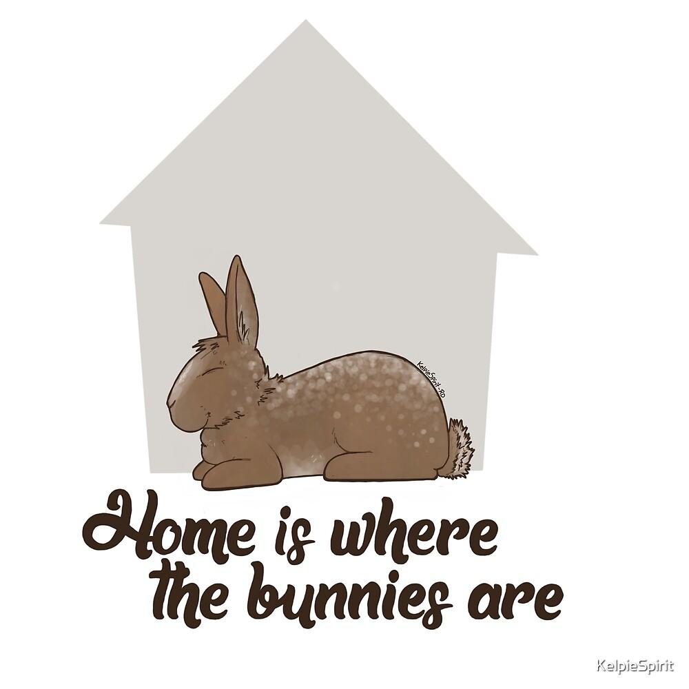 KelpieSpirit - Home is where the bunnies are by KelpieSpirit
