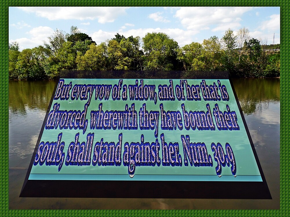 Reflection with text by Karl Rose